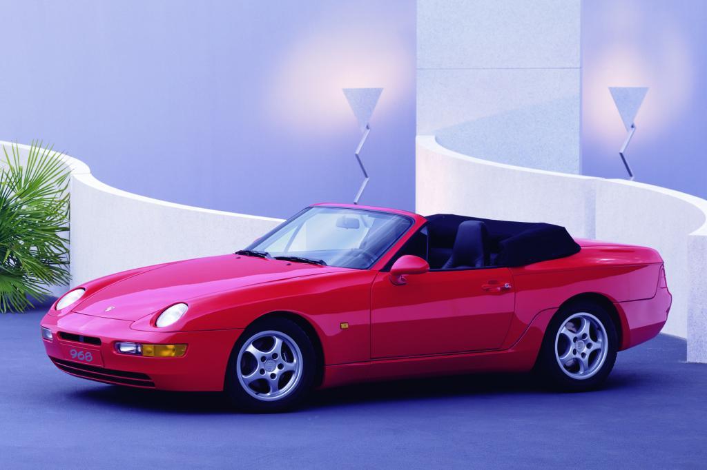 Porsche 968 Cabrio, 1992