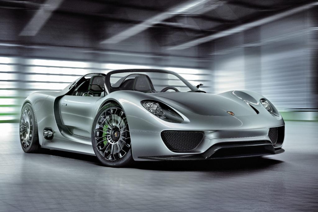 Porsche: Spyder-Studie wird Museumsstück