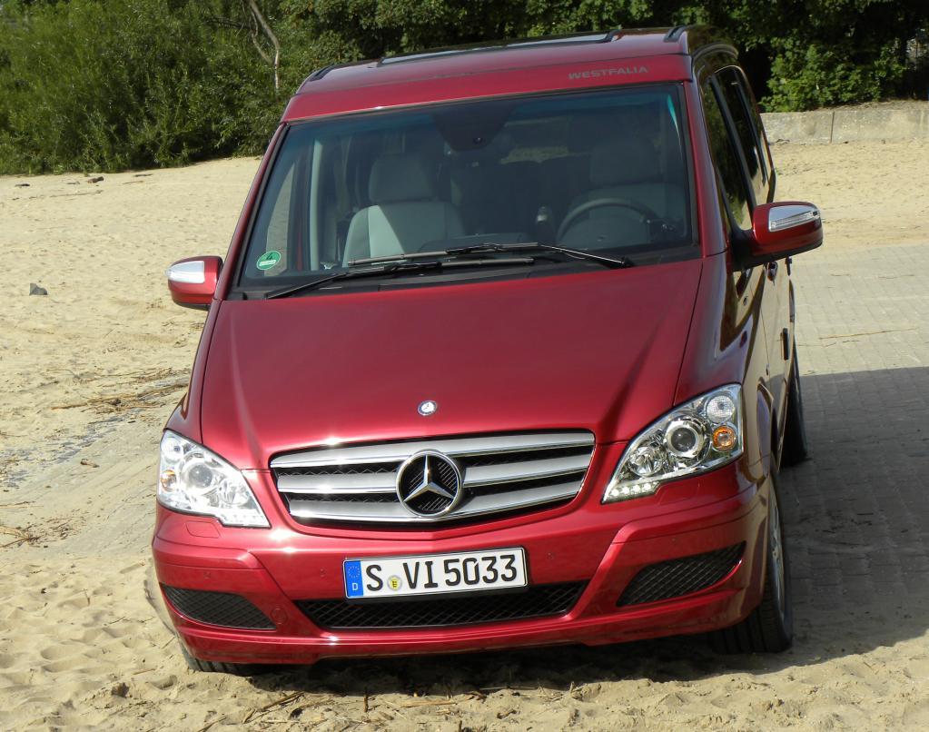 Pressepräsentation Mercedes-Benz Marco Polo: Ein Leisetreter
