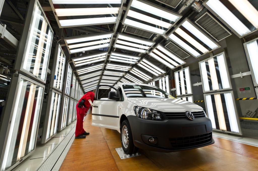 Produktion des neuen Volkswagen Caddy angelaufen