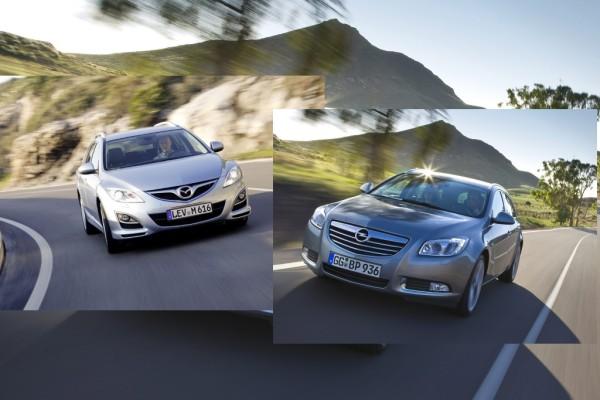 Reise-Diesel-Vergleich: Mazda6 Kombi gegen Opel Insignia Sports Tourer