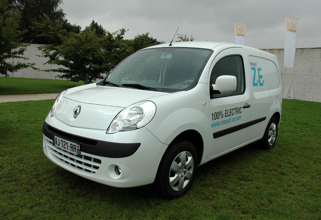 Renaults erstes Elektroauto wird im Herbst 2011 der Kangoo Rapid ZE sein.