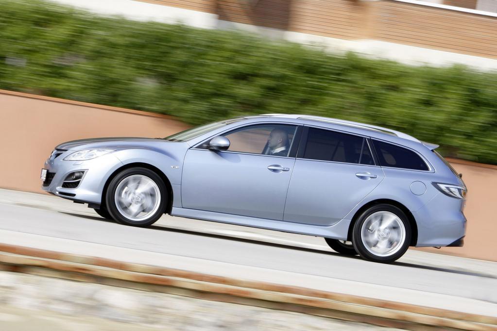Rund 4,79 Meter misst der Mazda6 und liegt damit im Klassenschnitt.