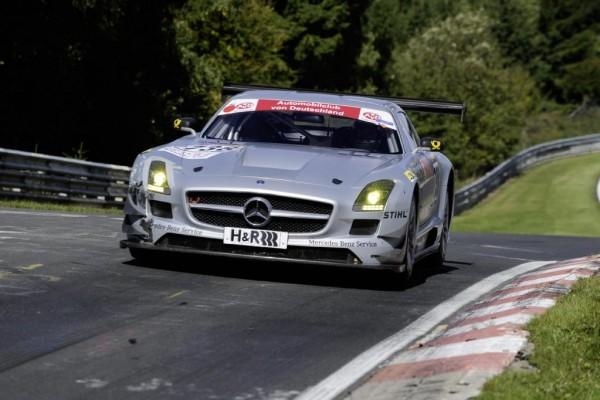 Rund 400 000 Euro kostet der SLS AMG GT3
