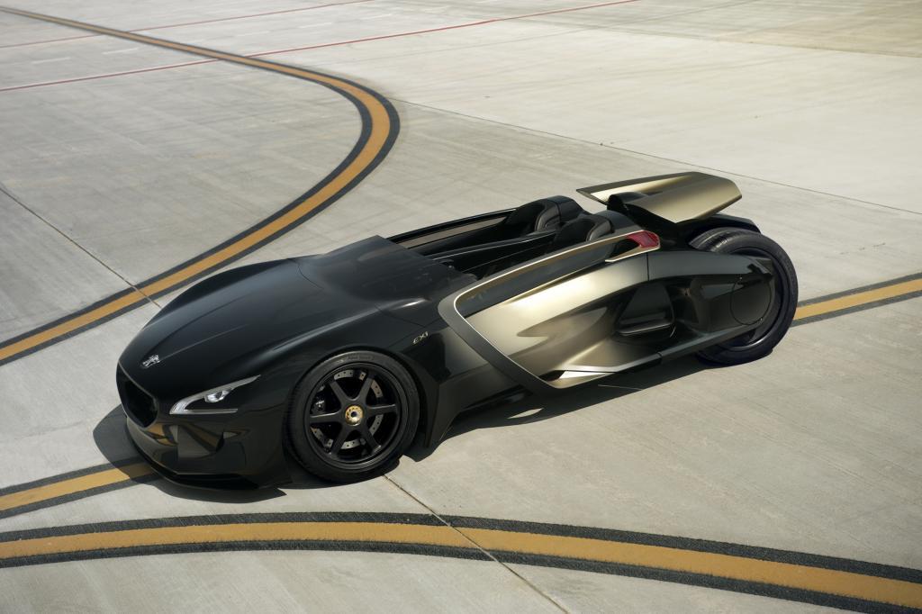 Schlanke Struktur: Der Roadster Peugeot EX1