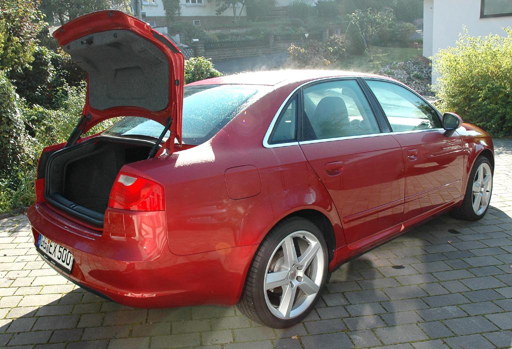 Seat Exeo: In den Kofferraum passen ordentliche mindestens 442 Liter Gepäck hinein.