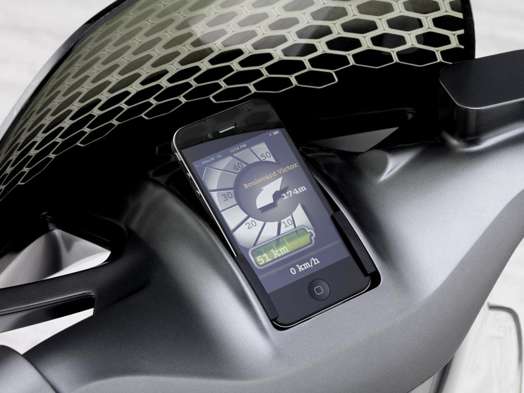 Smart E-Scooter: Mit den typischen Vorteilen des Fortwo Electric Drive.