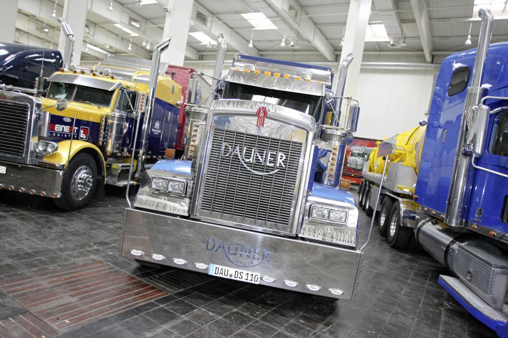 Sonderschau: US-Trucks auf der IAA.