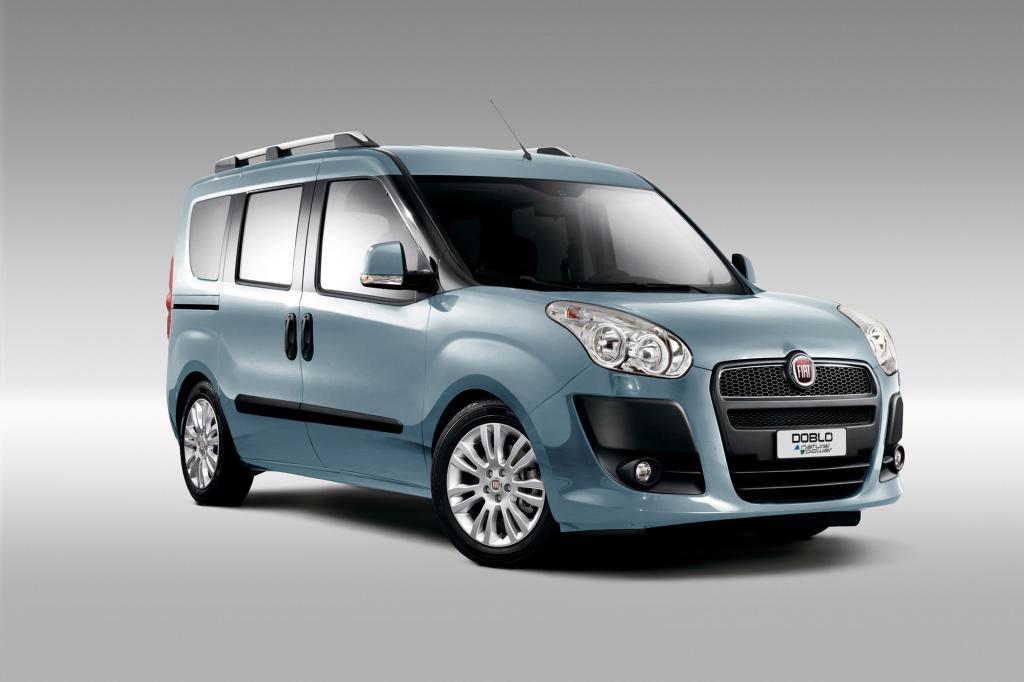 Sparen mit Gas kann man jetzt beim Fiat Doblo