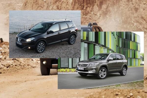 Vergleich Kompakt-SUV - Die fantastischen Vier