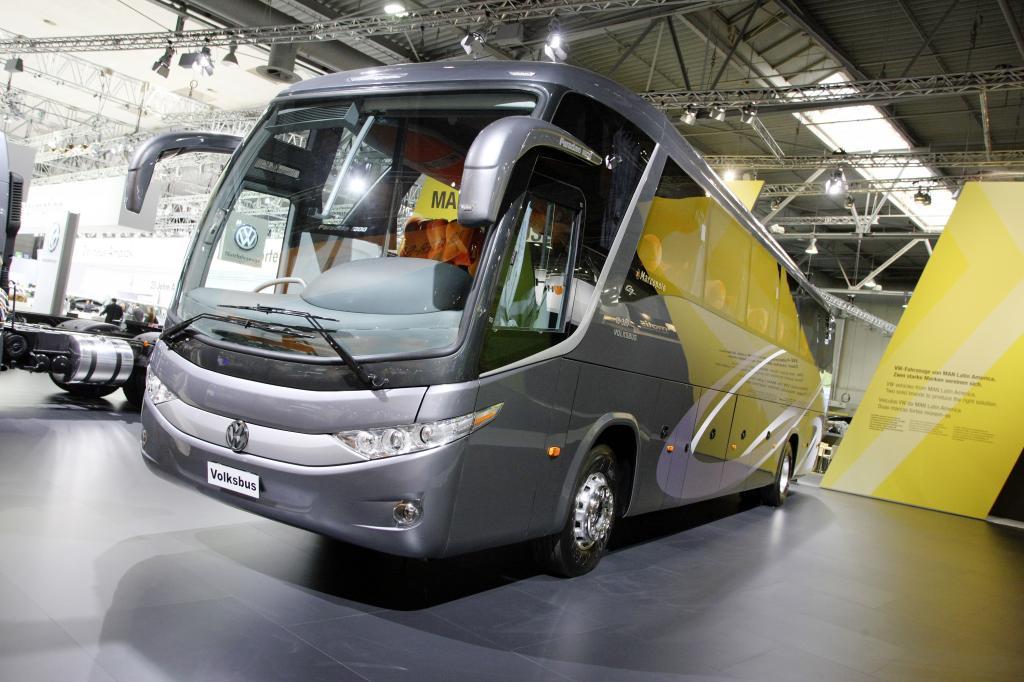 Volksbus von Volkswagen (nur in Südamerika).