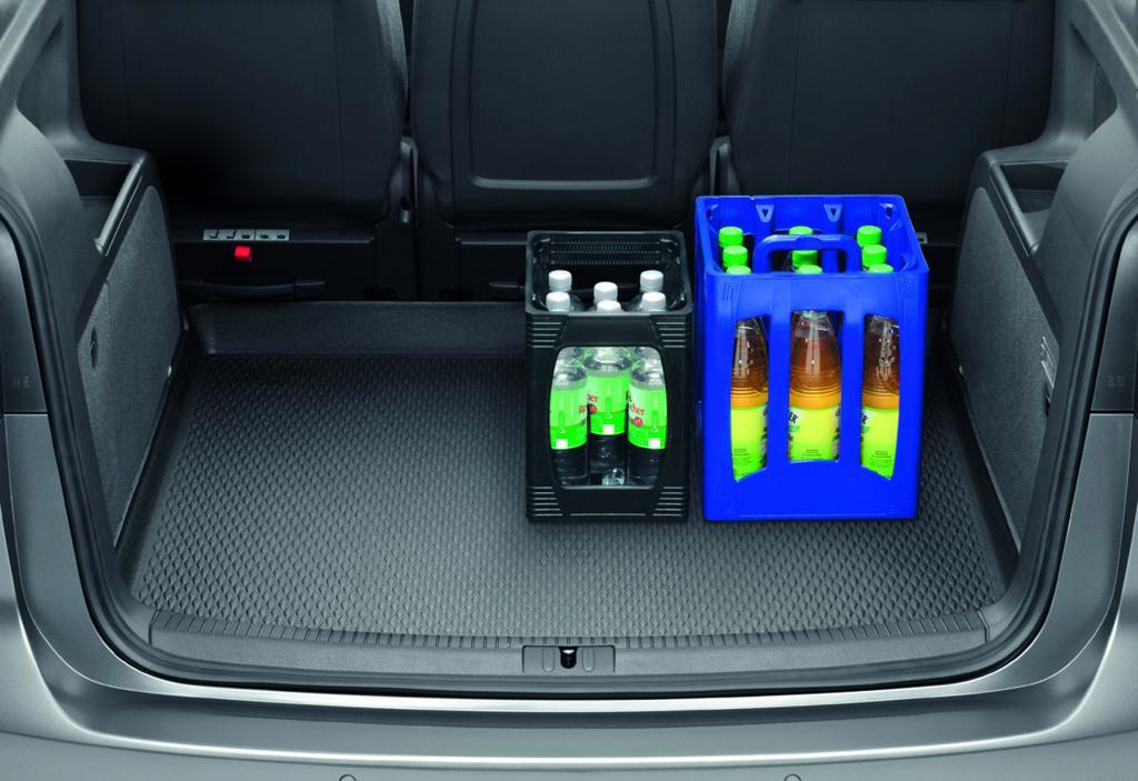 Volkswagen bietet Original-Zubehör für Sharan und Touran