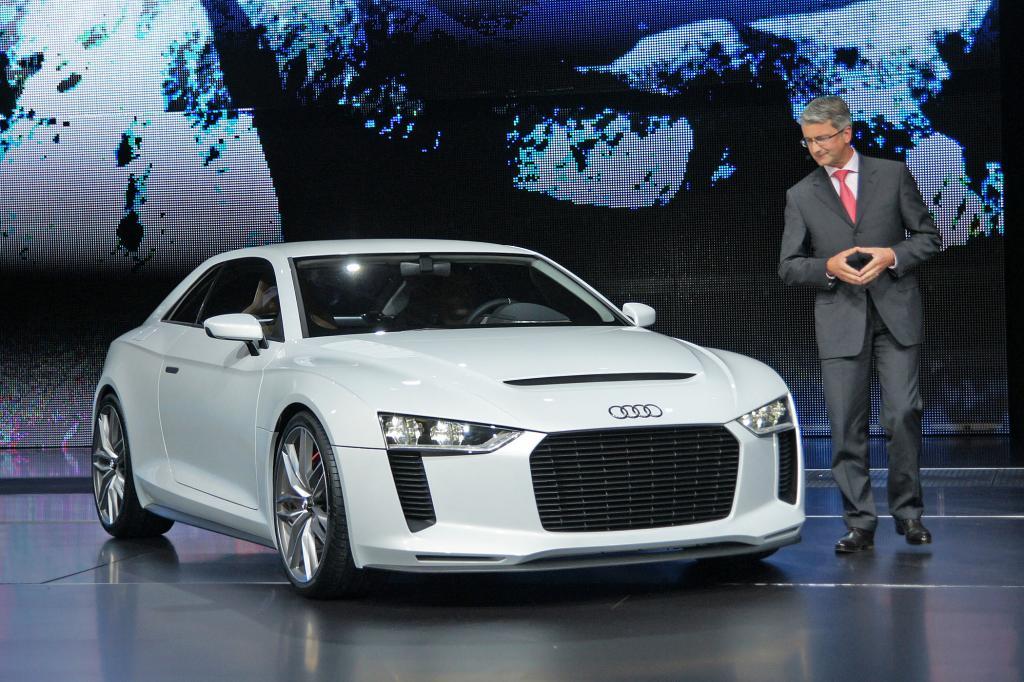 Weiß wie die Unschuld, aber Leistung wie ein Böser - der Audi quattro concept