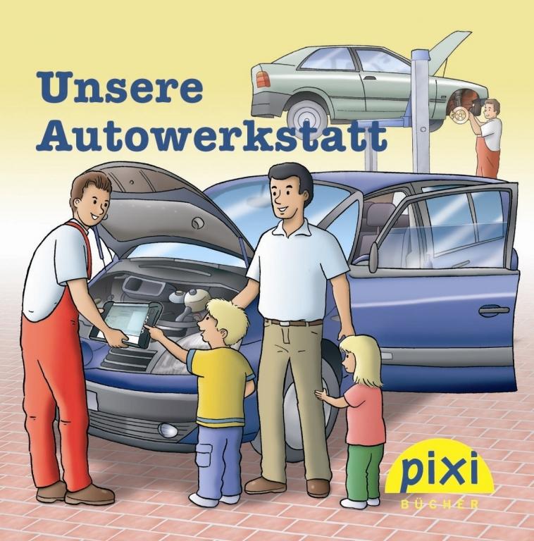 ZDK: Pixi erklärt Kindern die Kfz-Welt