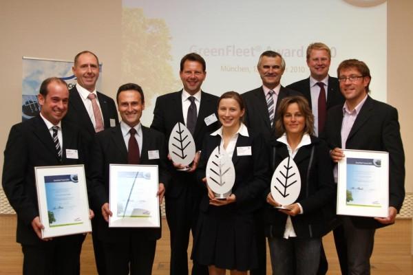 ''Green Fleet Award'' für die Post, Ikea und Hartmann