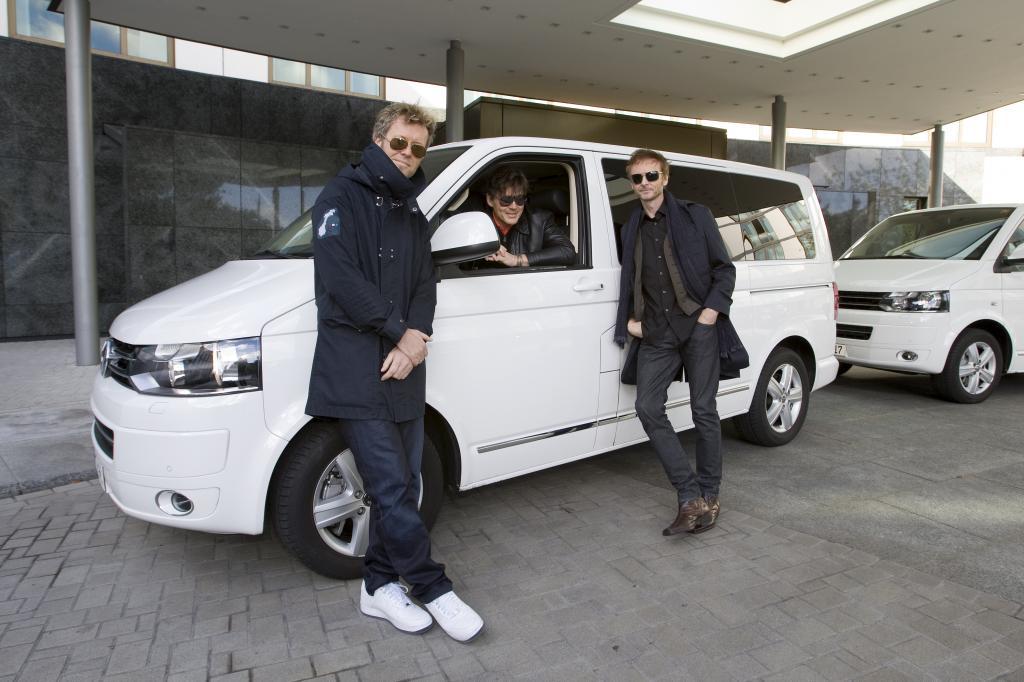 A-ha tourt im Volkswagen Multivan