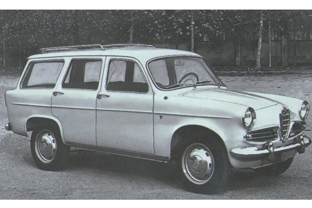 Alfa Romeo Giulietta Giardinetta 1957 bis 1959