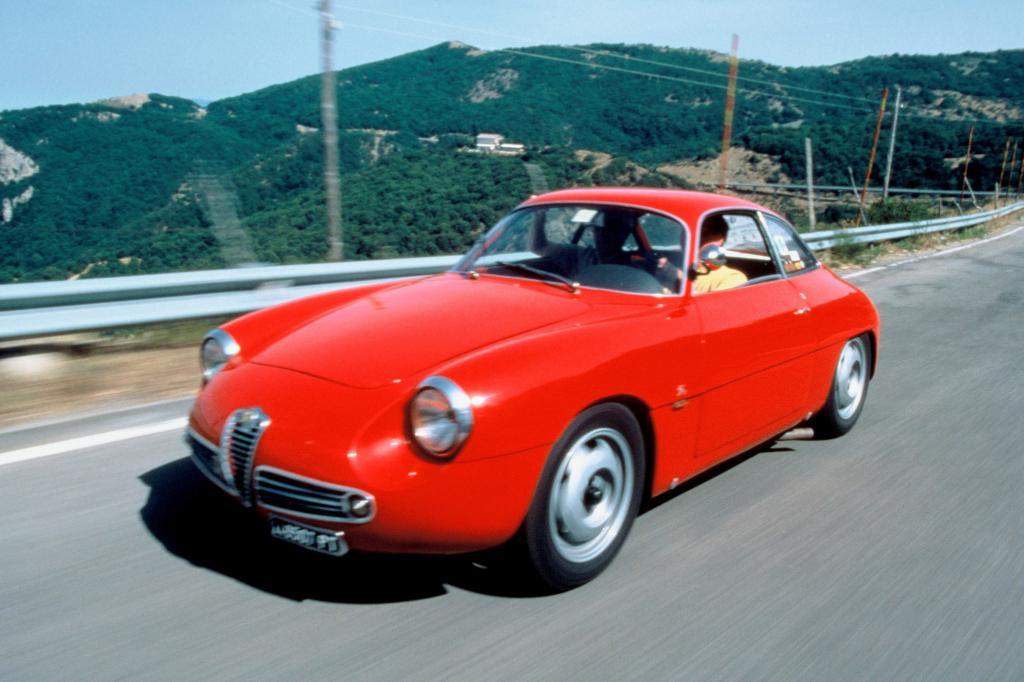 Alfa Romeo Giulietta SZ 1960 bis 1962