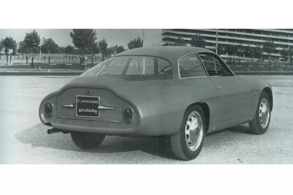 Alfa Romeo Giulietta SZ Kammheck 1961