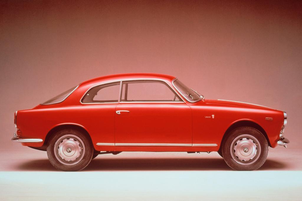 Alfa Romeo Giulietta Sprint 1954 bis 1956