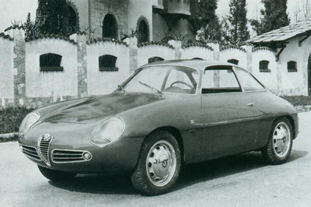Alfa Romeo Giulietta Sprint Zagato 1960