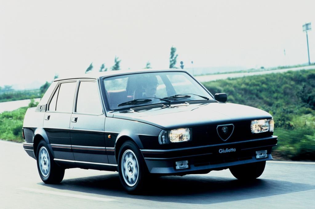 Alfa Romeo Giulietta Turbodelta 1983 bis 1984