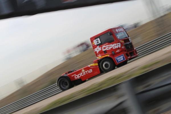 Antonio Albacete ist 10. Truck Race Europameister auf MAN