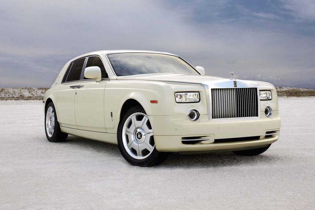 Auch die von 2003 bis 2010 gebauten Rolls-Royce Phantom Modelle sind vom Rückruf betroffen.