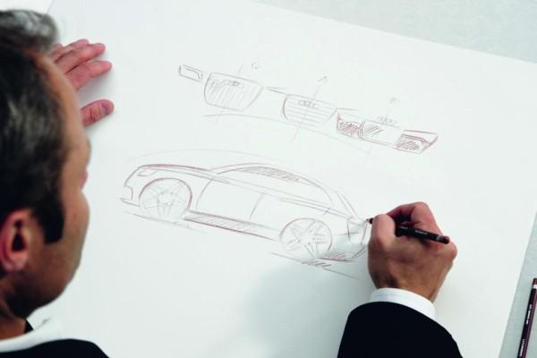 Audi Design - Egger skizziert Gegenwart und Zukunft