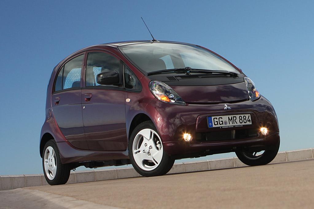 Auf dem Automobilsalon Paris feiert Mitsubishis Elektroauto
