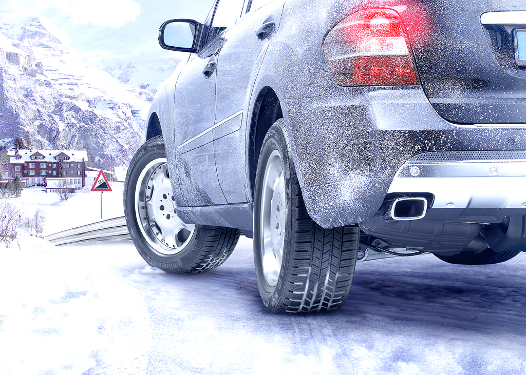 Auf die richtigen Reifen auch in kälteren Jahreszeiten kommt es an.