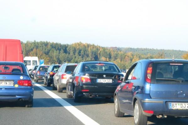 Autobahn-Vollsperrungen am Wochenende - Es wird eng