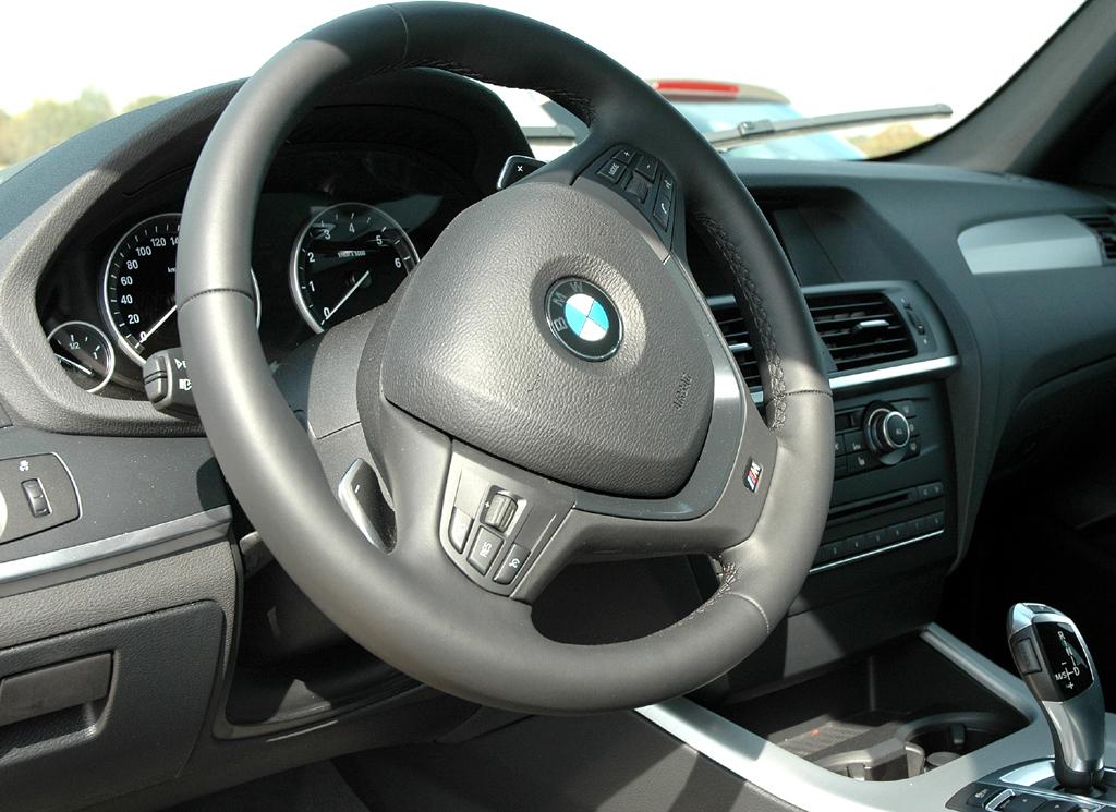BMW X3: Blick ins Cockpit.