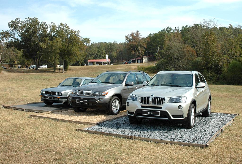 BMW X3: Kompaktallradler-Parade bei der Präsentation in den USA.