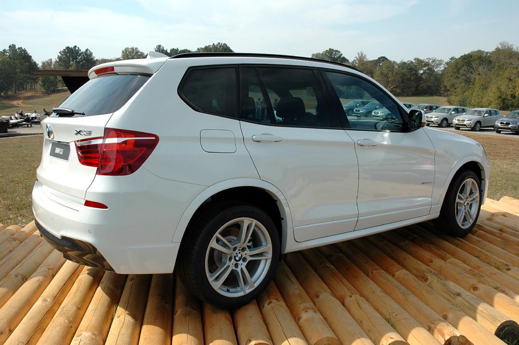 BMW X3: Seitenansicht der Variante mit M-Sportpaket.