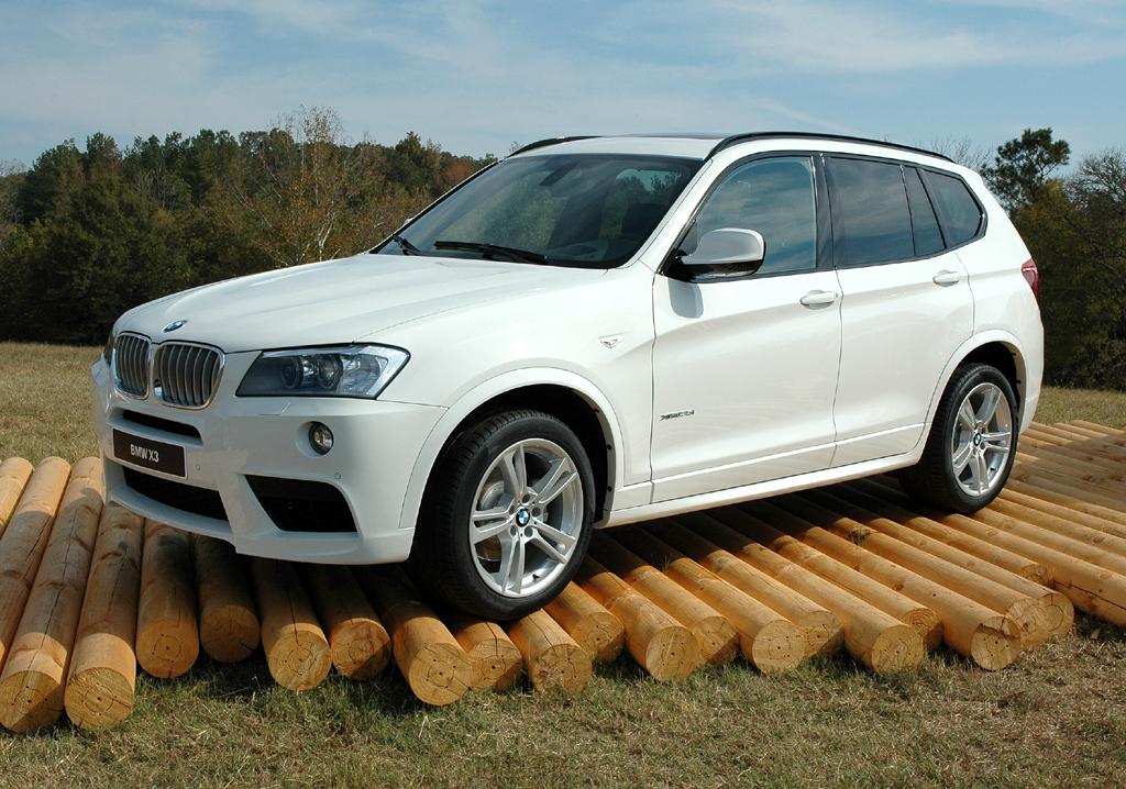 BMW X3, hier die Version mit M-Sportpaket.