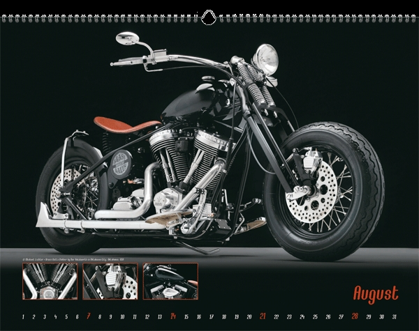 Blitzender Chrom und starke Maschinen lassen jedes Motorrad-Fahrer-Herz höher schlagen