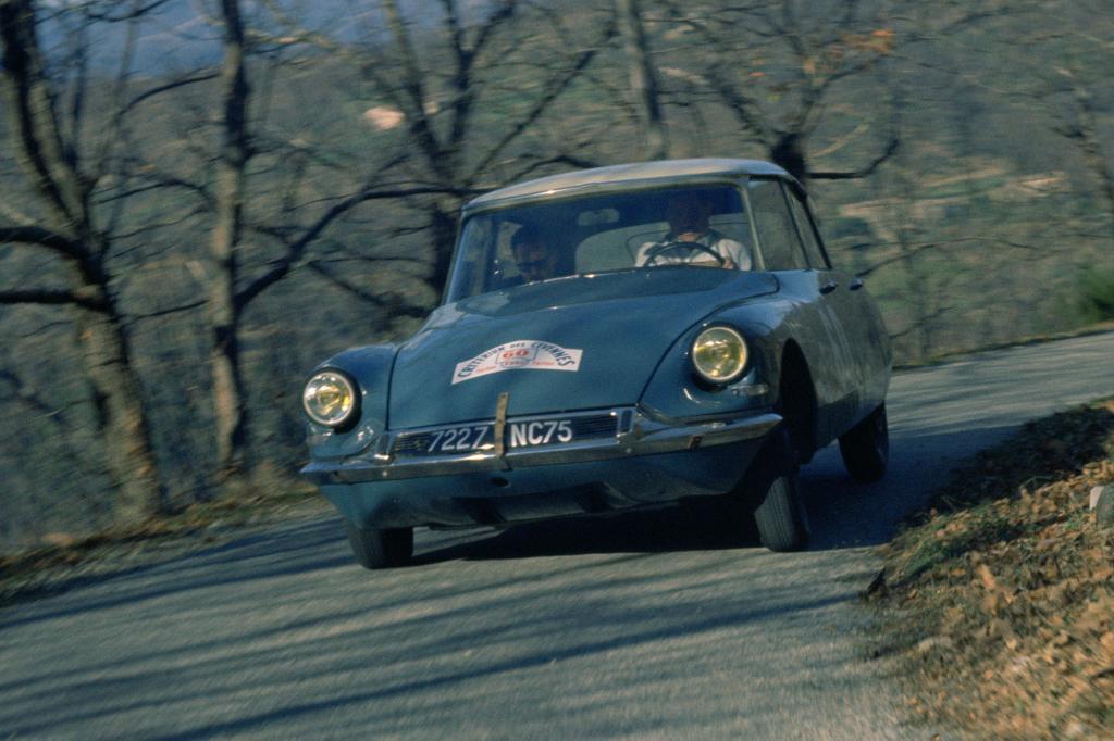 Citroen DS 19, Rallye Cevennes, im Jahr 1963
