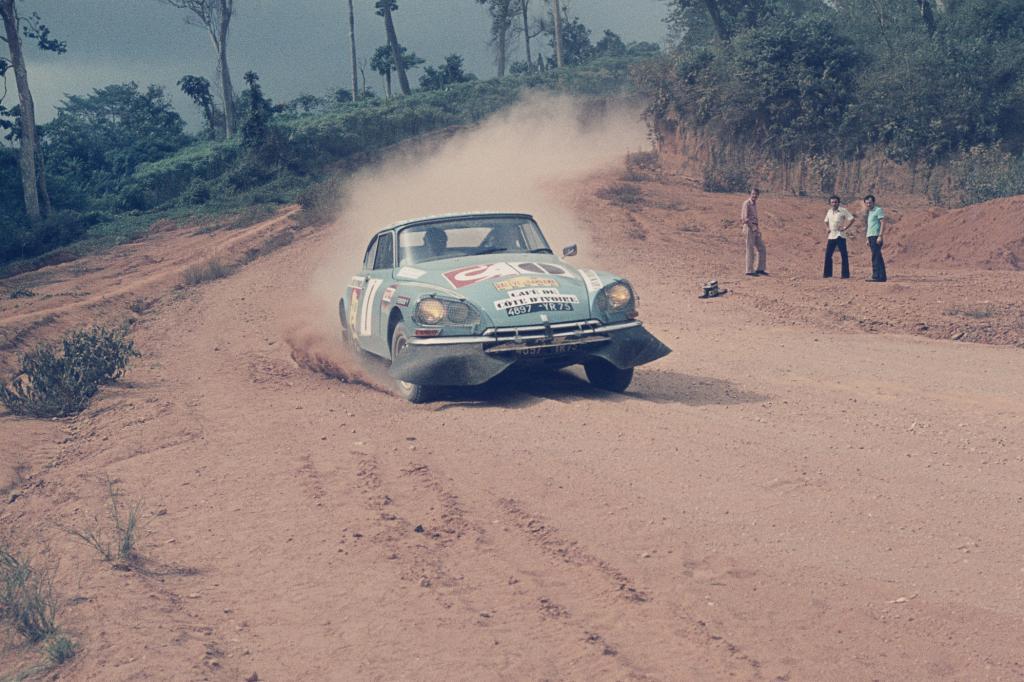 Citroen DS Prototype Raccourci, Rallye Bandama, 1972
