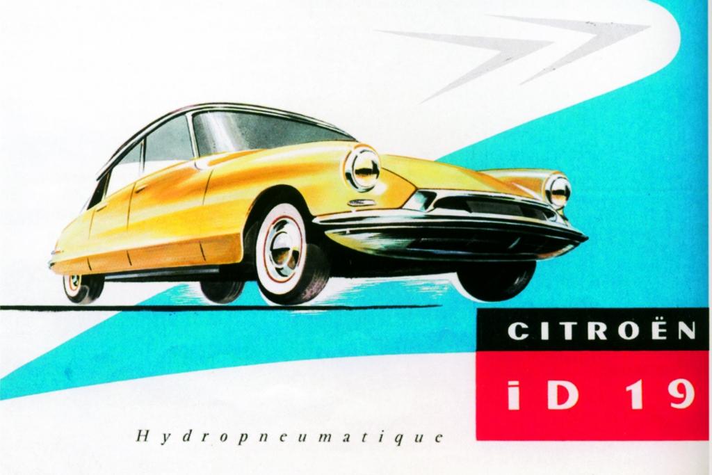 Citroen DS Werbung von 1958