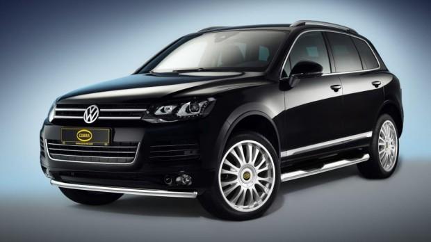 Cobra veredelt den Volkswagen Touareg