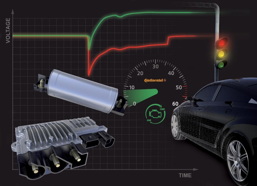 Continental entwickelt Bordnetz-Modul für e-HDi Start-Stopp-Systeme