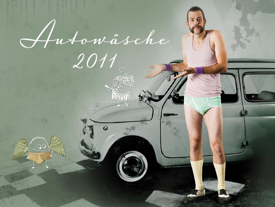 Das Cover des Autowäsche-Kalenders 2011
