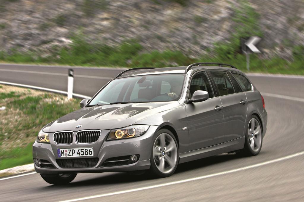 Der BMW 3er Touring überzeugt mit sparsamen Motoren