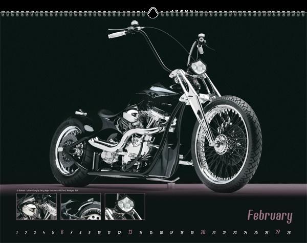 Der Fotograf selbst ist großer Motorrad-Fan