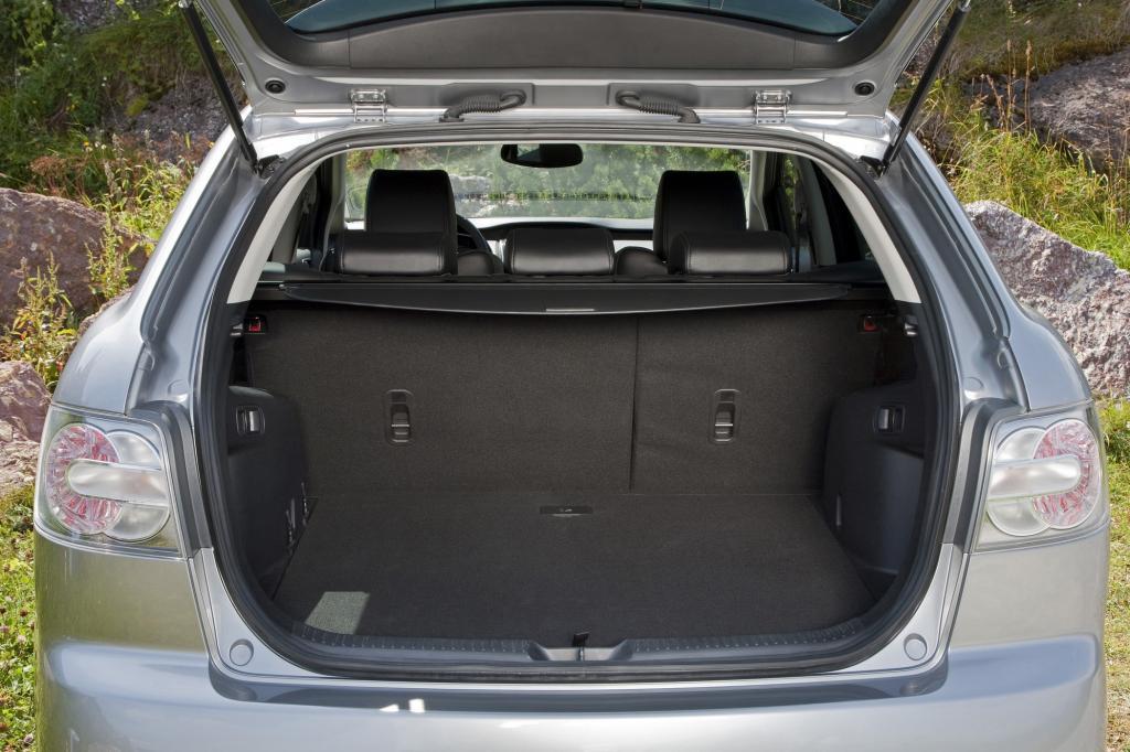 Der Kofferraum fasst maximal 1.348 Liter