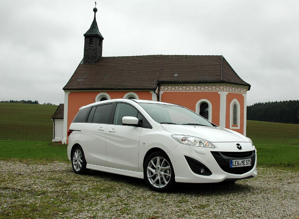 Der Kompaktvan Mazda5 geht in Neuauflage an den Start.
