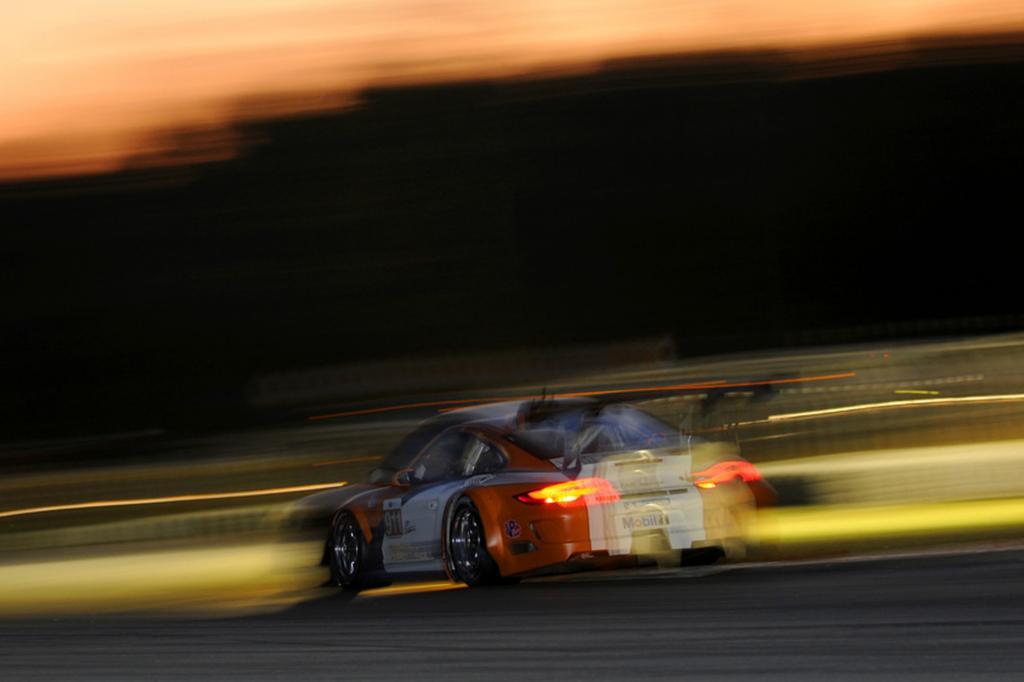 Der Porsche GT3 R Hybrid wird in der American Le Mans Serie eingesetzt