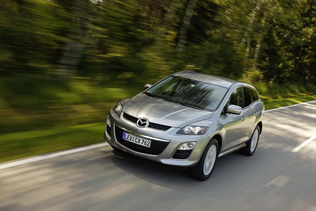 Der neue Dieselmotor macht den Mazda CX-7 attraktiver