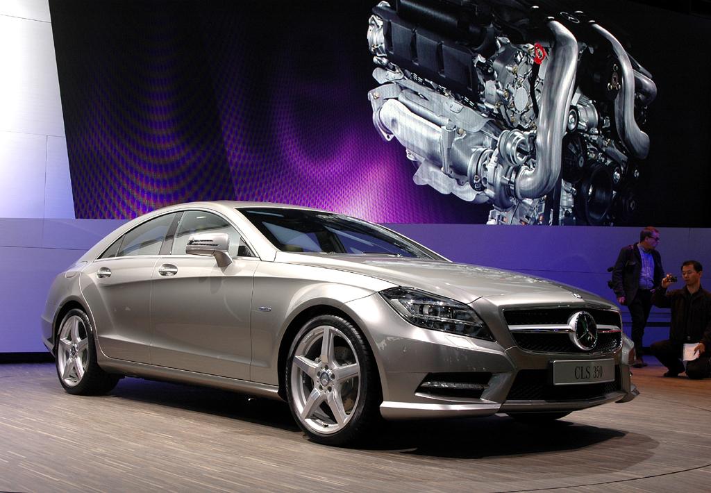 Die CLS-Neuauflage muss sich mit Audis neuem A7 und der BMW-6er-Neuauflage messen lassen.